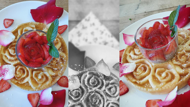 Farm to Table Fresh Strawberry Waffles!